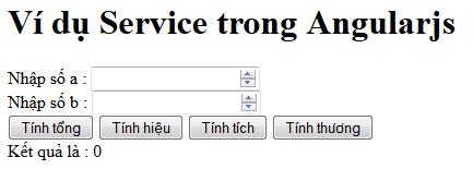 Form tính toán áp dụng service trong angularjs