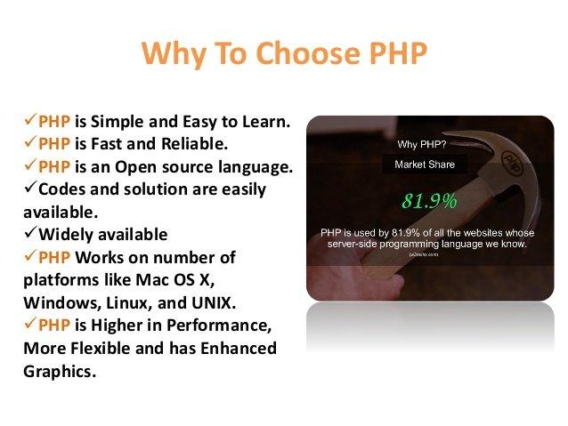 12 lý do chọn PHP là ngôn ngữ lập trinhf web