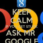Đặt câu hỏi thông minh và coi Google là cha, là ông cố nội của bạn