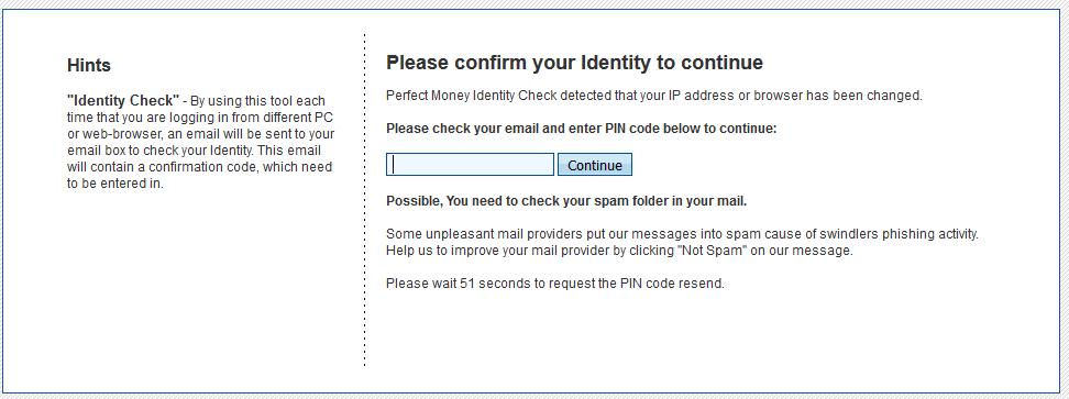 Nhập mã code email thanh toán