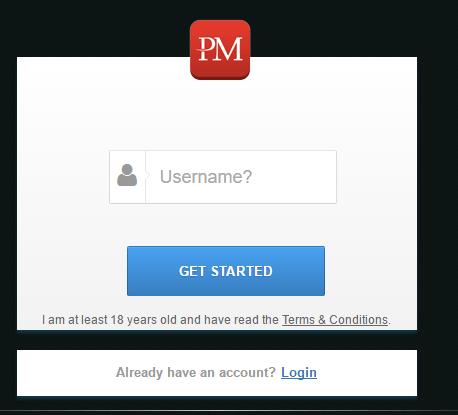 Kiếm tiền với PmDice, hướng dẫn đăng ký tài khoản PmDice