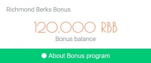 Đăng ký tài khoản richmonberks nhận 120 đô