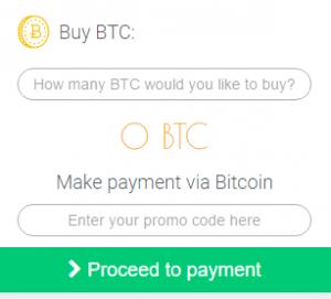 Nạp tiền bằng Bitcoin