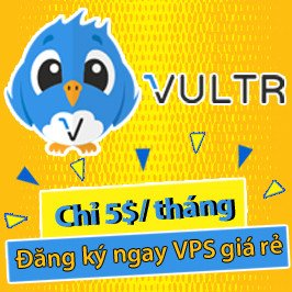 vps vultr gia re chi 5$/thang
