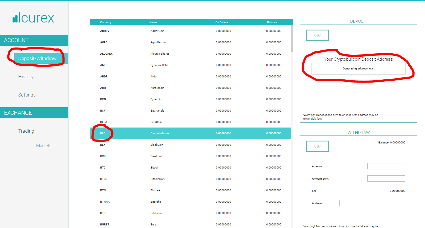 Hướng dẫn giao dịch BullCoin trên sàn Alcurex