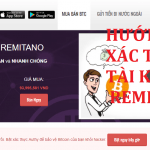 Hướng dẫn xác thực tài khoản Remitano để mua BitCoin