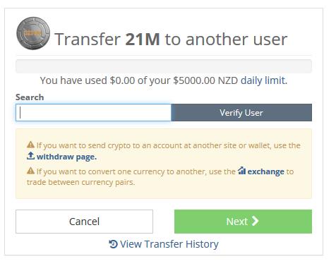 Tìm người dùng để chuyển đổi