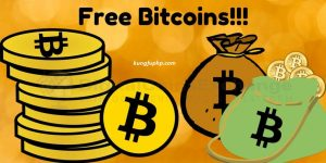 kiếm bitcoin miễn phí