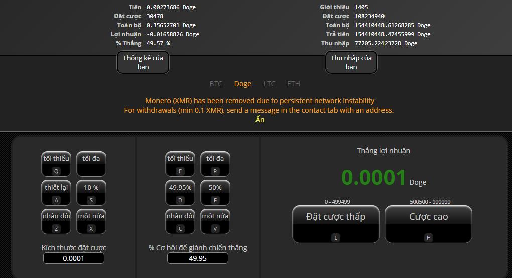 999dice - Game Dice kiếm tiền tồn tại lâu nhất đến bây giờ :D