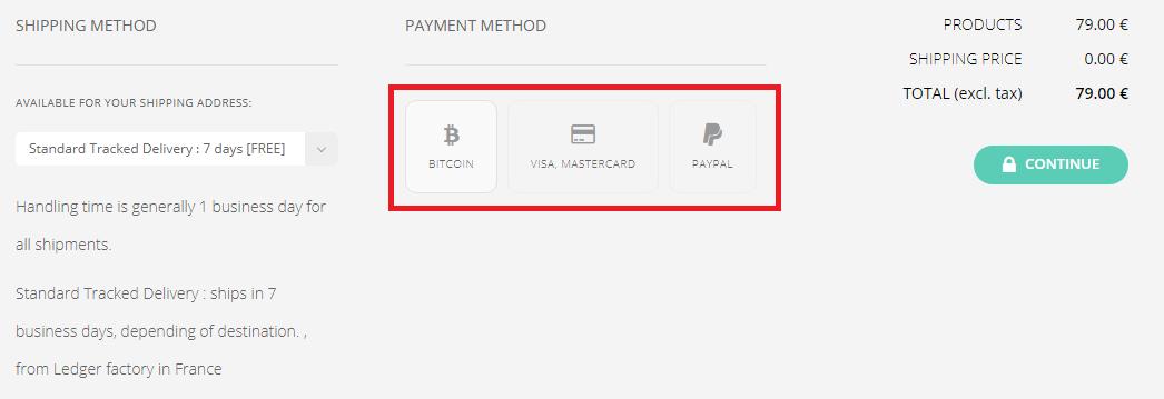 Chọn phương thức thanh toán Bitcoin, Visa, Paypal