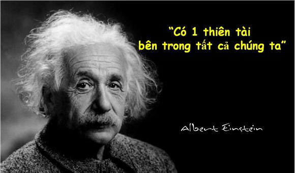 có 1 thiên tài trong tất cả chúng ta