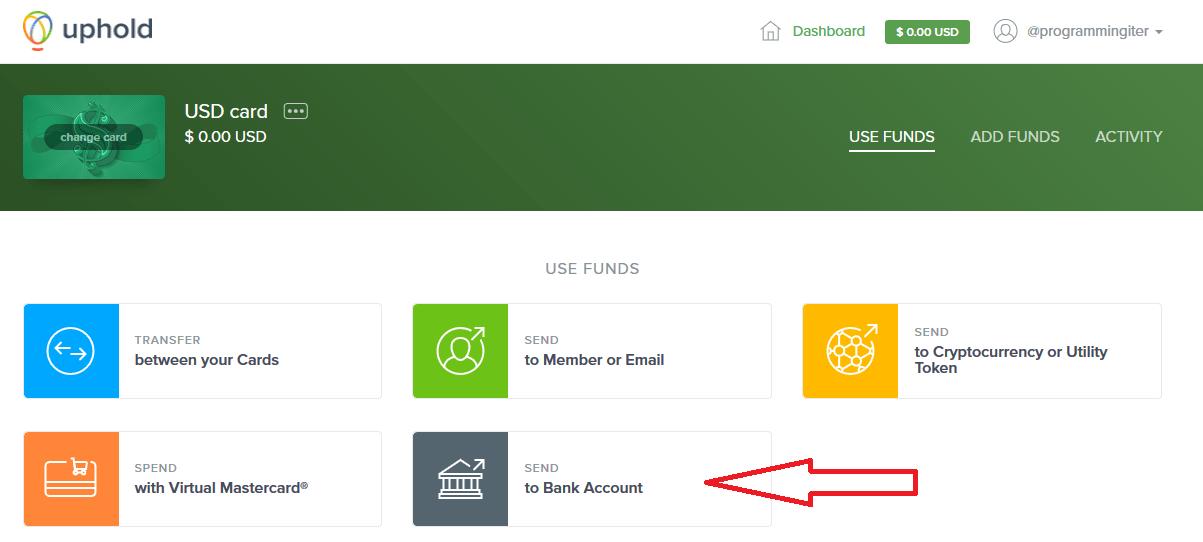 Chuyển tiền qua ngân hàng