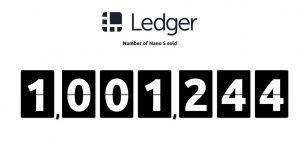 ledger nano s bán 1 triệu ví trữ coin