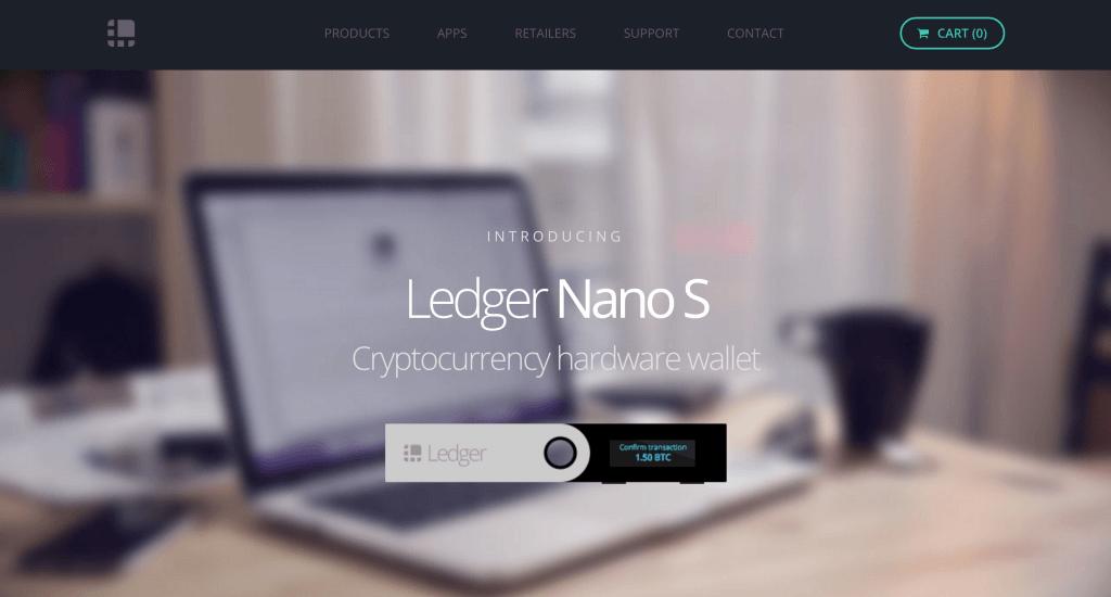 Ledger Nano S - Ví trữ coin an toàn nhất