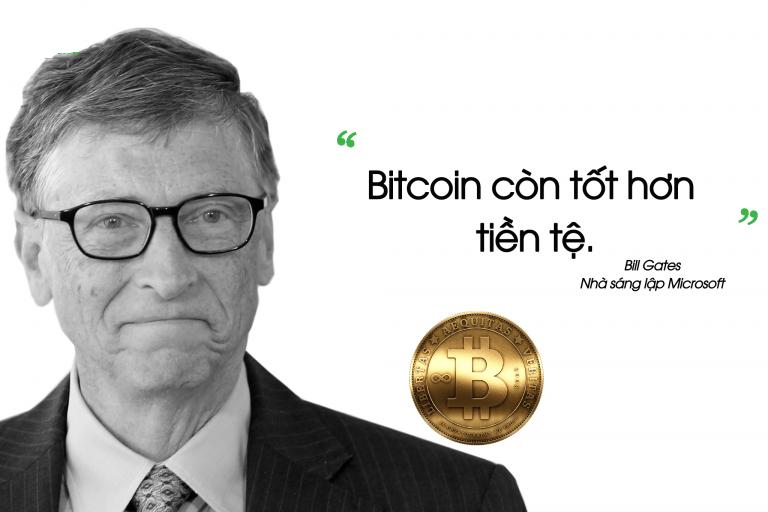 bitcoin tốt hơn tiền tệ - bill gates