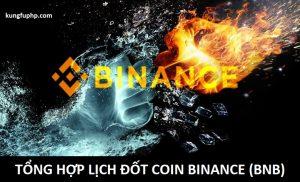 Tổng hợp lịch đốt coin của BNB (Burn Binance Coin)