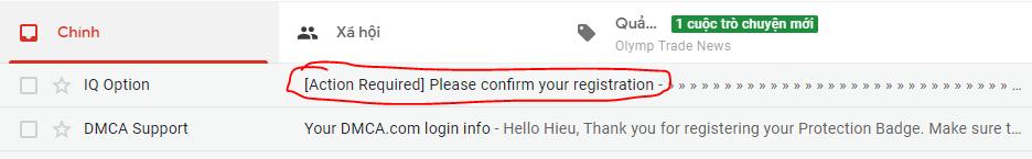 Xác thực địa chỉ email