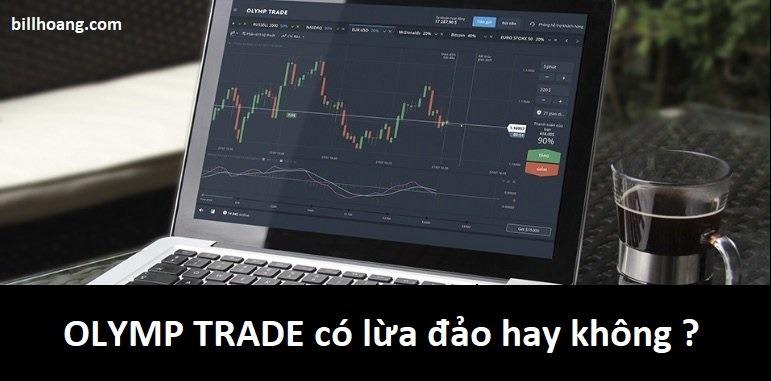 olymp trade có lừa đảo không ? những điều bạn cần biết về olymp trade
