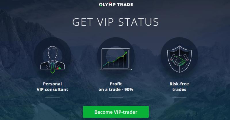 Vip trong Olymp Trade là gì? Quyền lợi của tài khoản Vip trong Olymp Trade