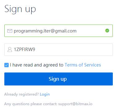 Đăng ký tài khoản sàn Bitmax - hướng dẫn sử dụng Bitmax toàn tập