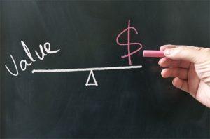sự khác nhau giữa giá cả và giá trị