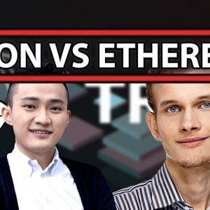 Liệu Tron sẽ có khả năng vượt qua Ethereum không?