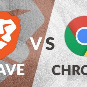So sánh Brave và Chrome – Brave nhanh hơn lại còn kiếm được tiền