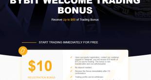Hướng dẫn đăng ký Bybit nhận 10 usd miễn phí - Nhận 50 usd thưởng nếu nạp 0.2 Bitcoin