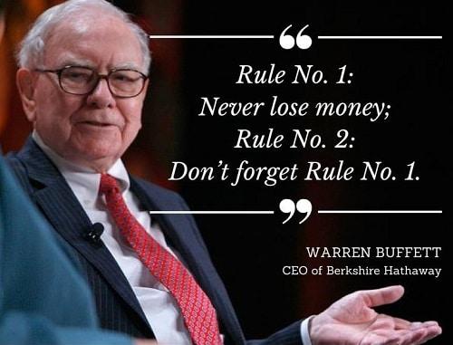 Quy tắc của Warren Buffett
