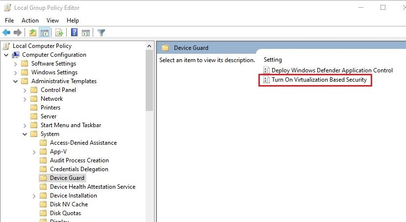 sửa lỗi VMware Workstation and Device/Credential Guard are not compatible thành công 3