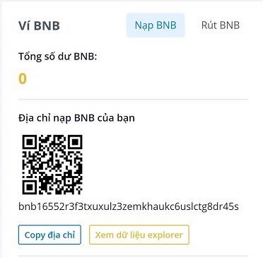Copy địa chỉ BNB trên Aliniex - hướng dẫn bán coin trên aliniex