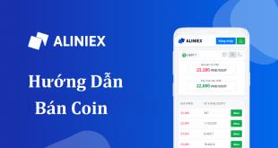 Hướng dẫn bán coin trên Aliniex