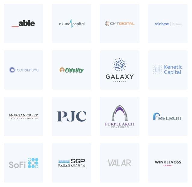 Các tổ chức đầu tư vào BlockFi
