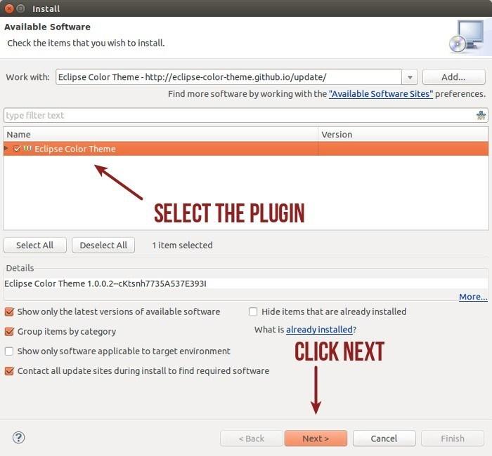 Hướng dẫn đổi giao diện cho Eclipse