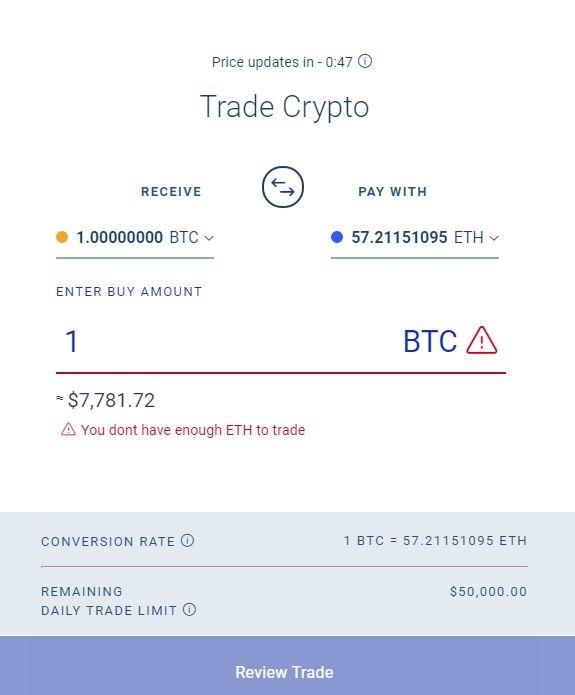 Trade BlockFi