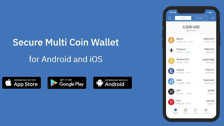 ví trust wallet - top ví bitcoin tốt nhất