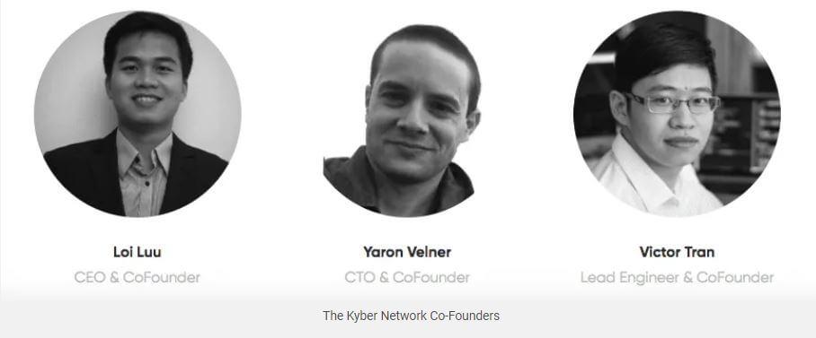Đội ngũ sáng lập Kyber Network