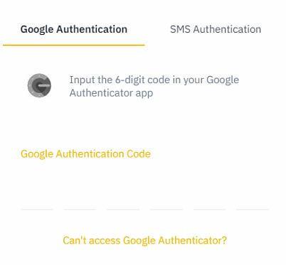 điền mã bảo mật 2 lớp 2FA xác thực giao dịch Binance P2P