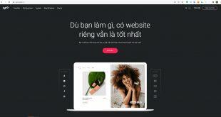hướng dẫn tạo website với zyro