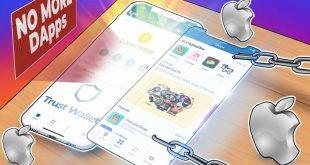 Trust Wallet buộc phải xóa trình duyệt DApp trên iOS để tuân thủ các nguyên tắc của Apple