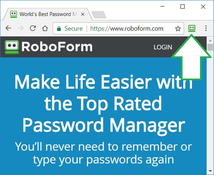 Phần mềm quản lý mật khẩu Roboform