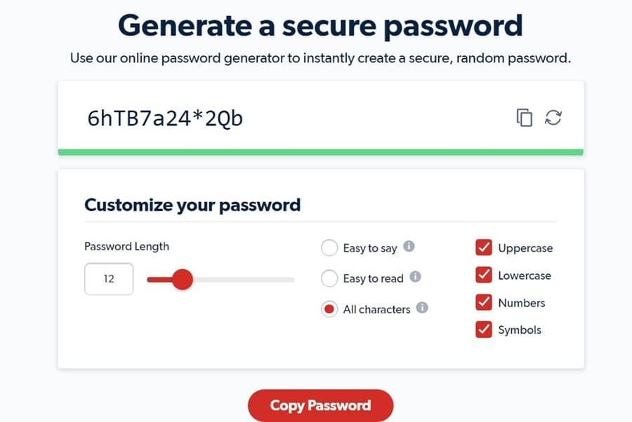 Tạo mật khẩu an toàn trên Lastpass