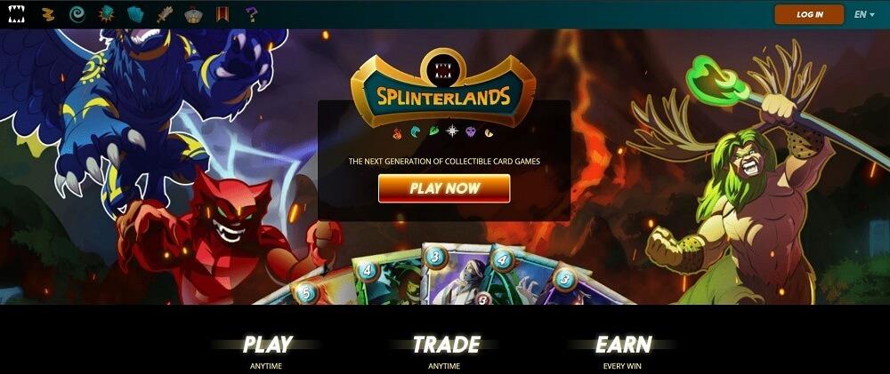 Game Splinterland - TOP những đồng NFT Game Coin